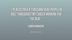 deaf quotes