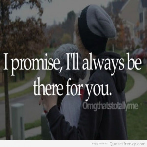 Sweet Love And Friendship Quotes ~ promise love friendship cute sweet ...