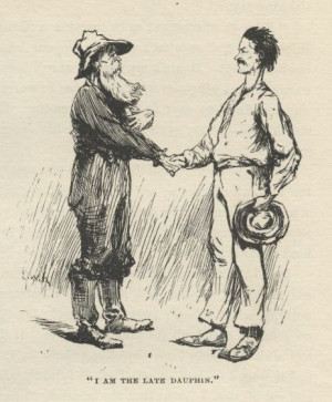 Huckleberry Finn And Jim Quotes Today: huck finn and the lost