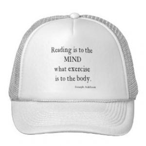 Vintage Addison Reading Mind Inspirational Quote Trucker Hat