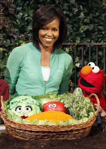 Michelle Obama Launches Childhood Obesity Initiative with LetsMove.Gov