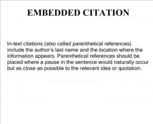 Mla Citation Worksheet In Text
