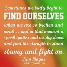 finding strength quotes - Google Search