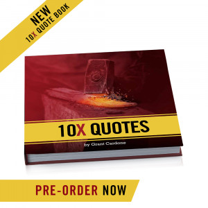 10X Quote Book by Grant Cardone