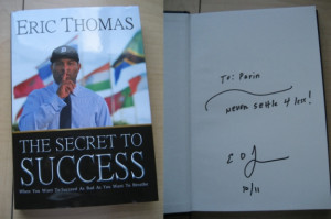 ... As Bad As You Want To Breathe by Eric Thomas (ET The Hip Hop Preacher