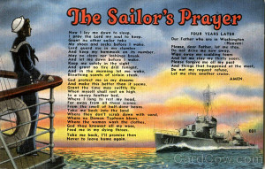 The Sailor's Prayer Navy Poems