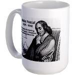 Mathematics: Blaise Pascal Large Mug