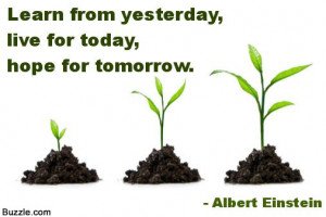 Therefore do not worry about tomorrow, for tomorrow will worry about ...