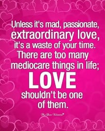 Passionate love - Love Picture Quotes
