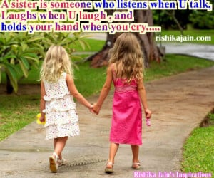 Sister Quotes ,greetings,Inspirational Quotes, Motivational Thoughts ...