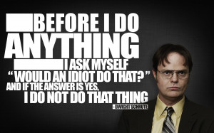 quotes typography The Office Dwight Schrute Rainn Wilson Wallpaper