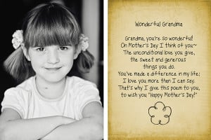 Free Mother's Day Template and Brush