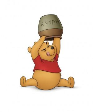 pooh & his honey pot