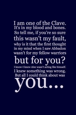 Mortal Instruments Quotes Tumblr