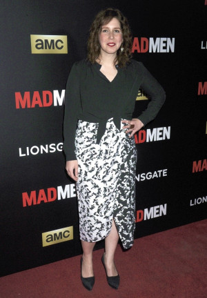 Vanessa Bayer Picture 7 Special Screening of Mad Men Red Carpet