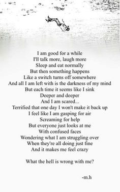 Searched Term: severe depression quotes