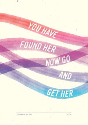 Artist Illustrates The Lyrics To 'Hey Jude' In Stunning Beatles Homage