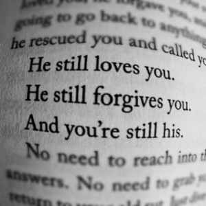 God will always forgive
