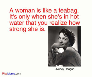 Nancy Reagan quote