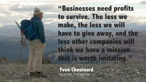 Yvon Chouinard on Business Building