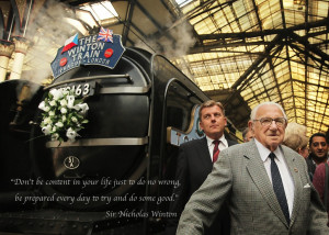 Sir Nicholas Winton motivational inspirational love life quotes ...