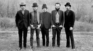From left, Rick Danko, Levon Helm, Richard Manuel, Garth Hudson and ...