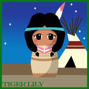 Tiger Lily Doll Peter Pan...