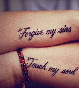 ... quotes tattoos august 24th 2014 by migle in colorful tattoos