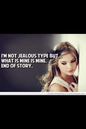 What's mine is mine. ;)