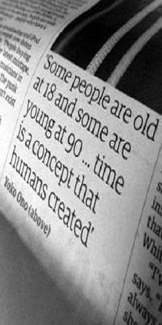 90s quotes, yoko ono quotes, number, old age quotes