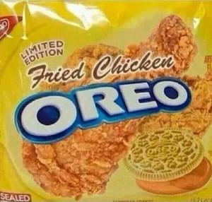 Fried Chicken Oreos