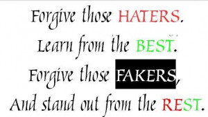 Gangster Quotes About Haters Forgiveness quote graphics