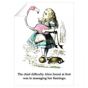 CafePress > Wall Art > Wall Decals > Alice in Wonderland Wall Decal