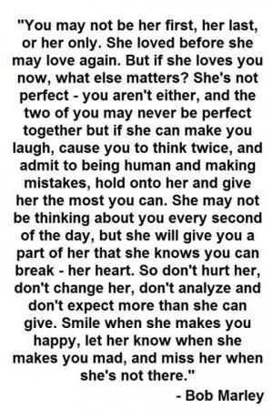 Bob Marley is a genius about women!