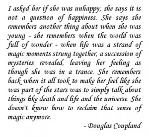 douglas coupland. he's the best