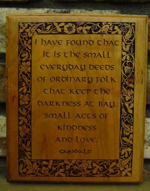 Quote, Laser Engraved Plaque $18: Laser Engraving, The Hobbit, Quotes ...