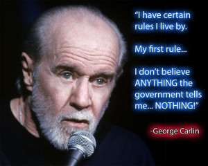 George Carlin Quotes Wallpaper George carlin quote by