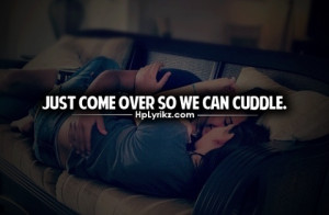 Just Want To Cuddle