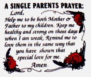 Prayer for Single Parents