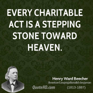 Henry Ward Beecher Inspirational Quotes