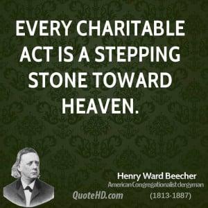 Henry Ward Beecher Inspirational Quotes