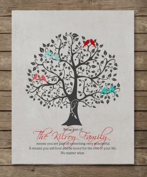 ... for inlaws in laws, Family QUOTE Poster Print, colors, font 8 x 10