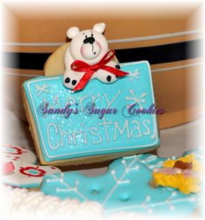 Christmas Quotes Cookies   Sandys Sugar Cookies   San Diego