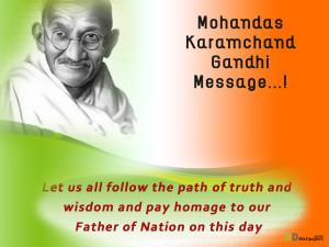 Gandhi Jayanti quotes Wallpapers