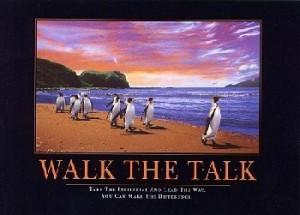 Walk The Talk Quotes Walk the talk (penguins)