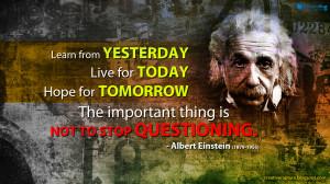 Albert Einstein Quotes Albert einstein inspirational
