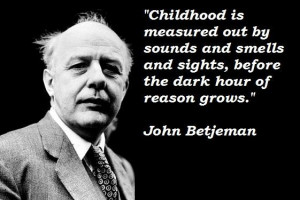 John betjeman famous quotes 1