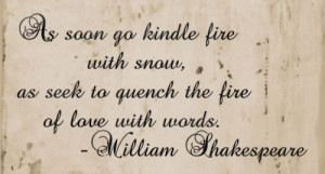 45+ Beautiful And Loving Shakespeare Quotes