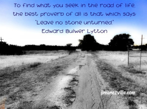 To find what you seek…