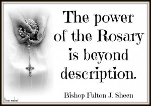 it is objected that there is much repetition in the rosary because the ...